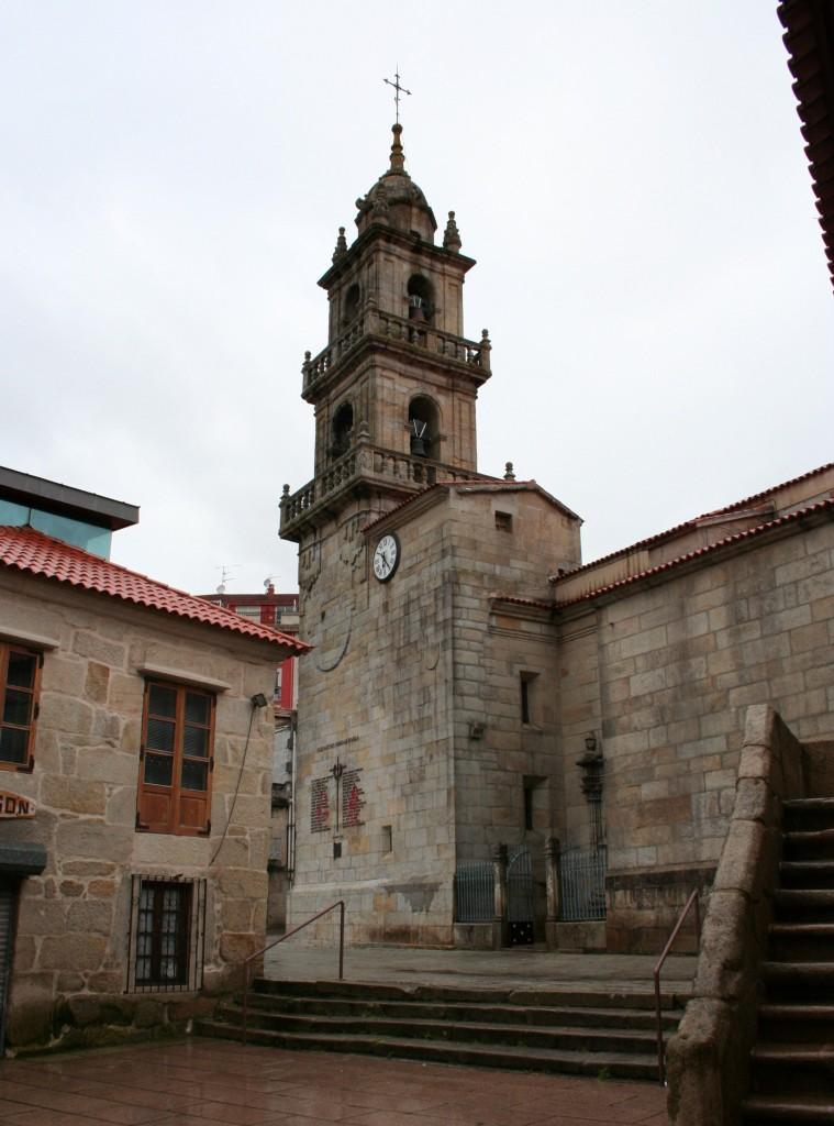 iglesia excolegiata santiago de cangas