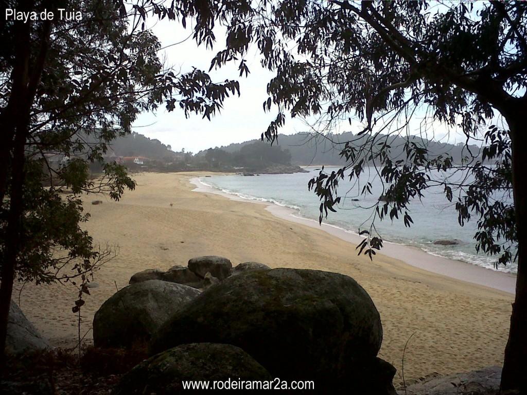 playas de bueu rias baixas de galicia