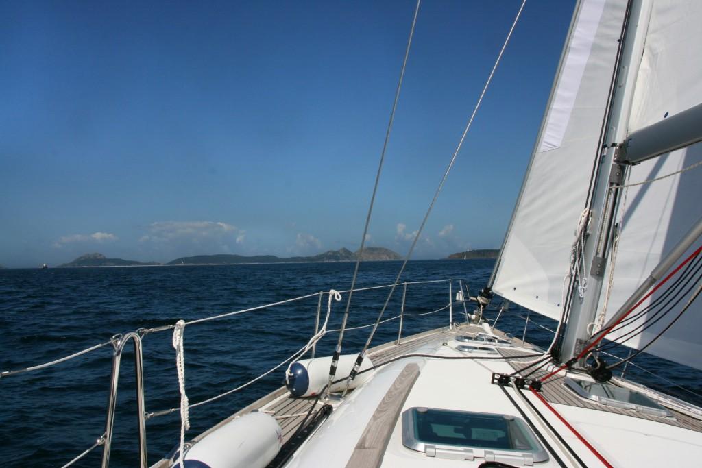 Ruta en barco velero por la Ria de Vigo