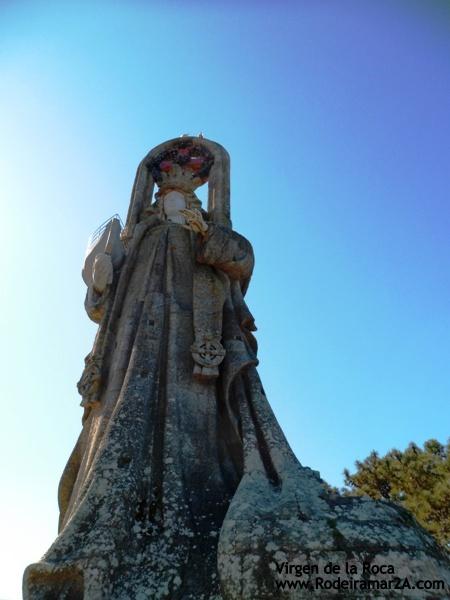 Vistas de Baiona desde la Virgen de la Roca. Baiona.