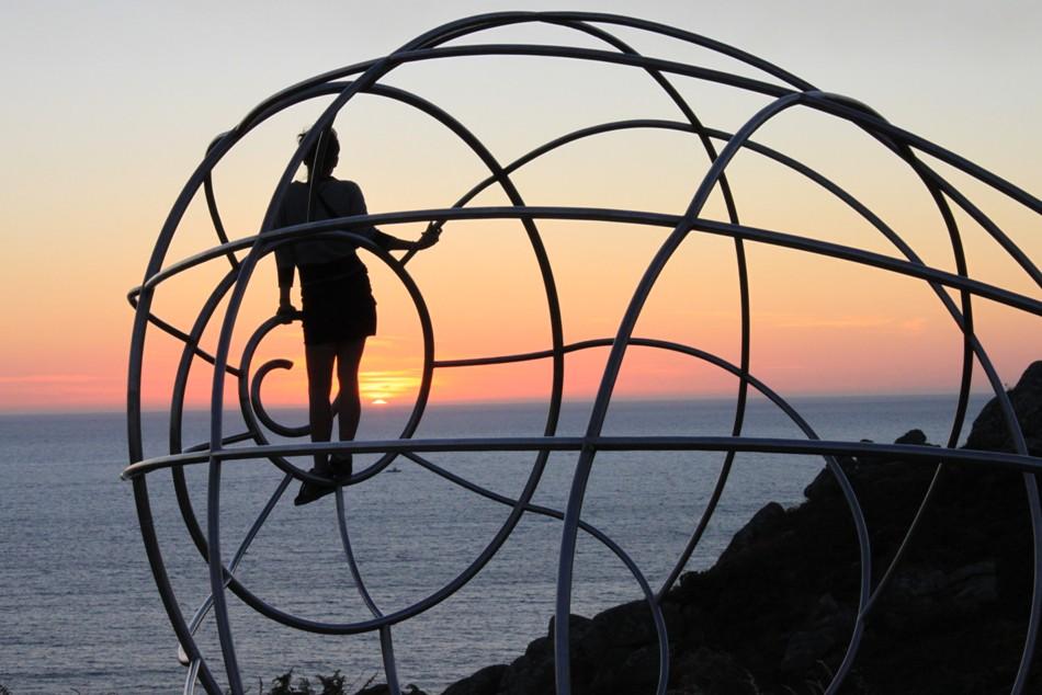 Caracola cabo home - Cabo Home. Mirador de la caracola. Costa de la Vela 1ª parte.