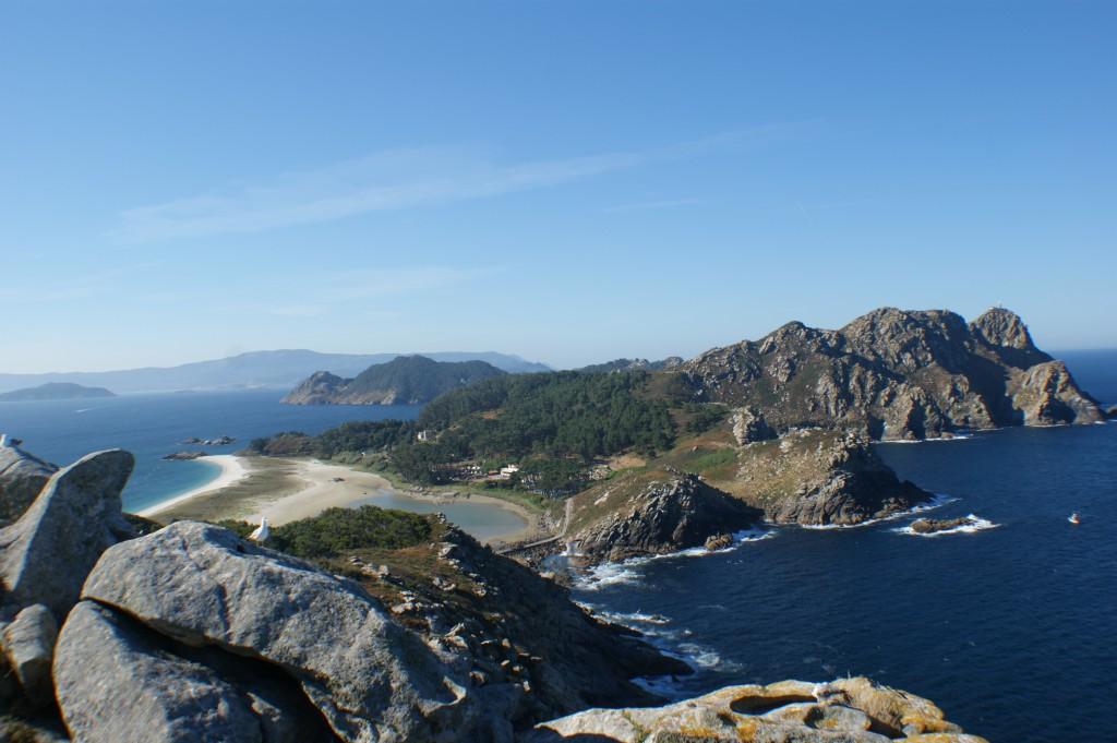 playa de rodas. la mejor playa de mundo en las islas cies