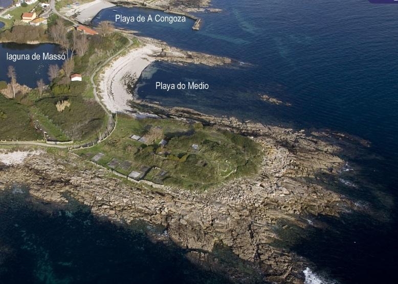 Vista aérea de la Laguna de Massó