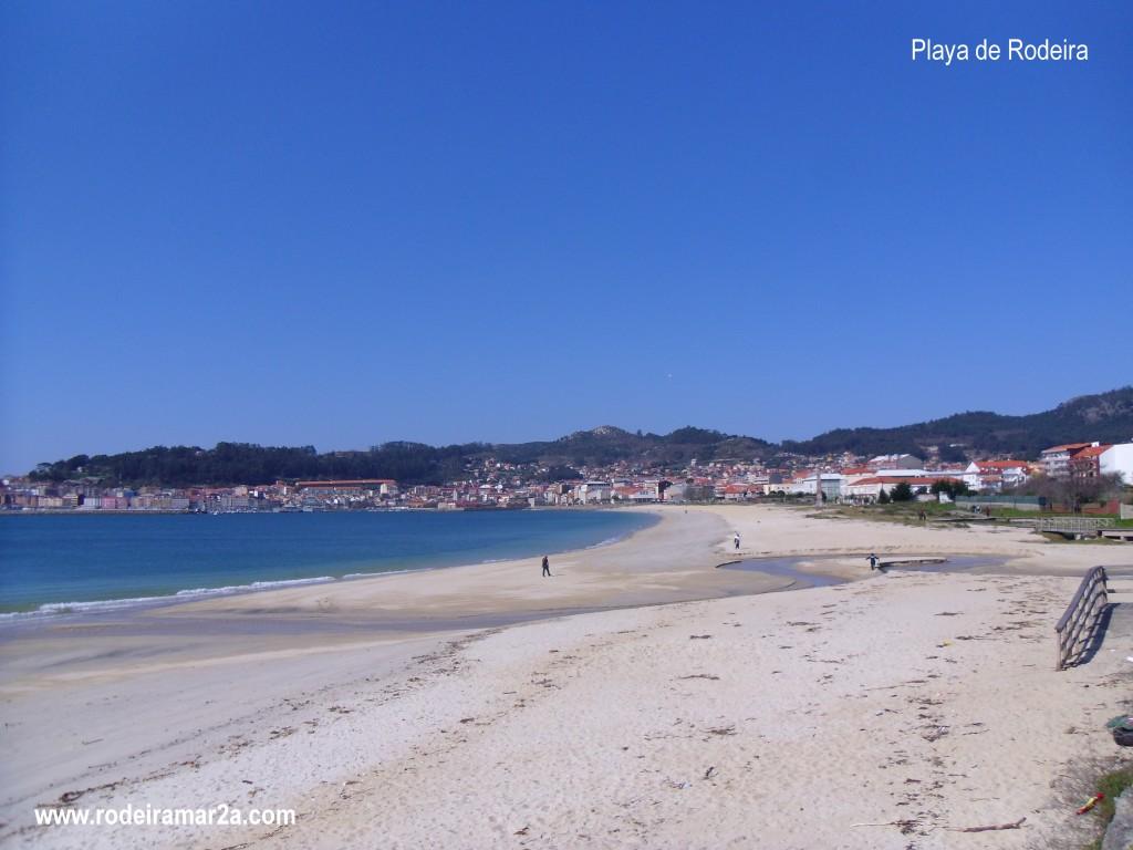playa de rodeira, la playa urbana de cangas de morrazo