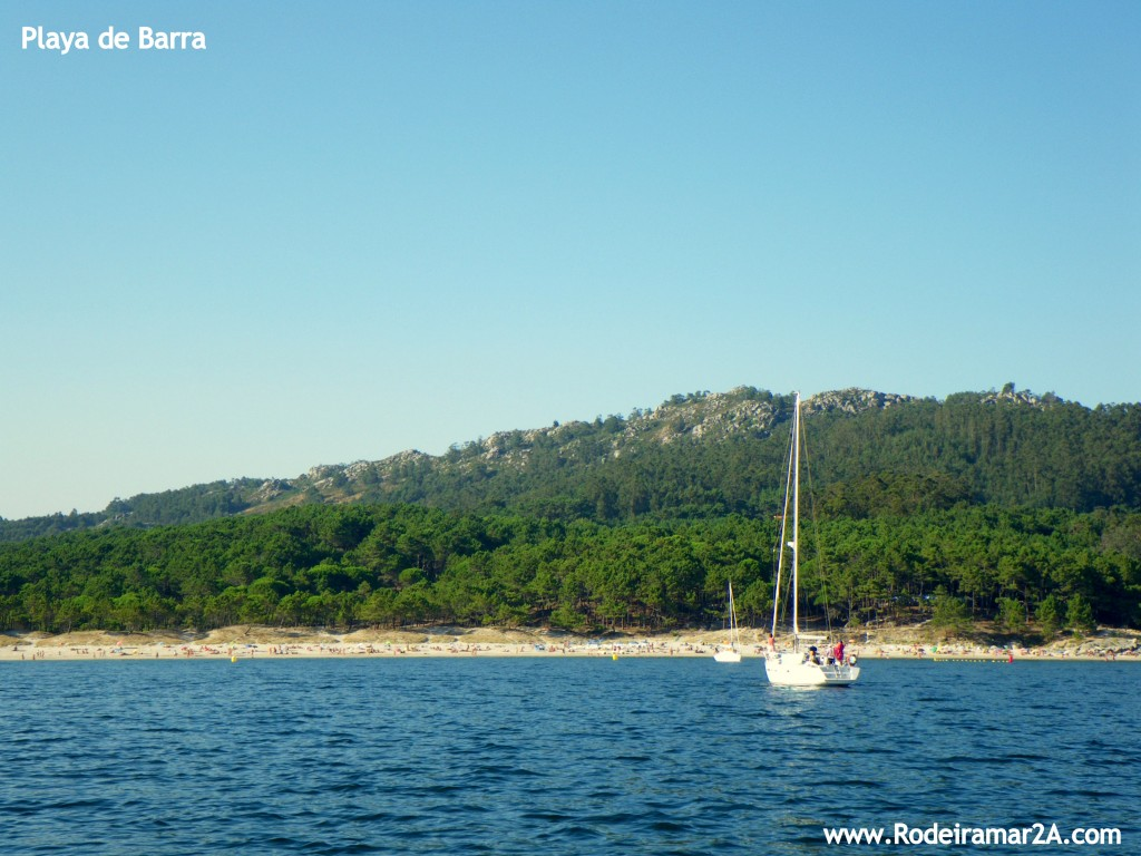 Playa de Barra y la zona de veleros
