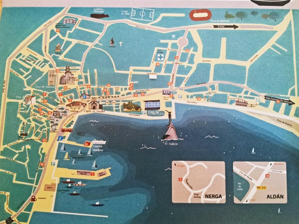 Mapa Bares Feria tapa 2012