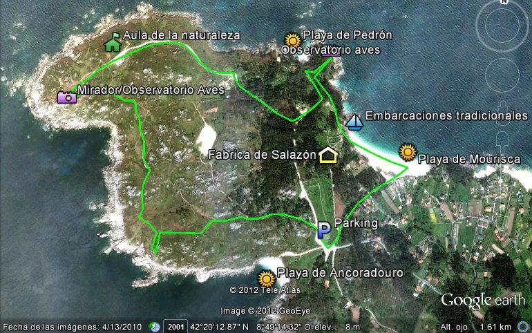 Cabo Udra. Bueu. Ruta de senderismo por Cabo Udra Rias Baixas de Galicia
