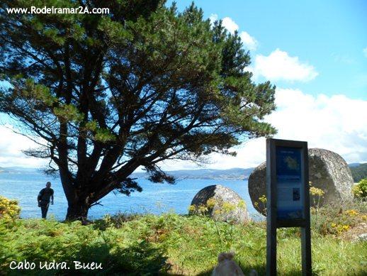 Paisaje en udra - CABO UDRA. Ruta de senderismo por Bueu, Rías Baixas.