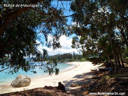 Playa de Mourisca - CABO UDRA. Ruta de senderismo por Bueu, Rías Baixas.