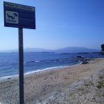 Playa de A Cunchiña, la playa para perros de Cangas.