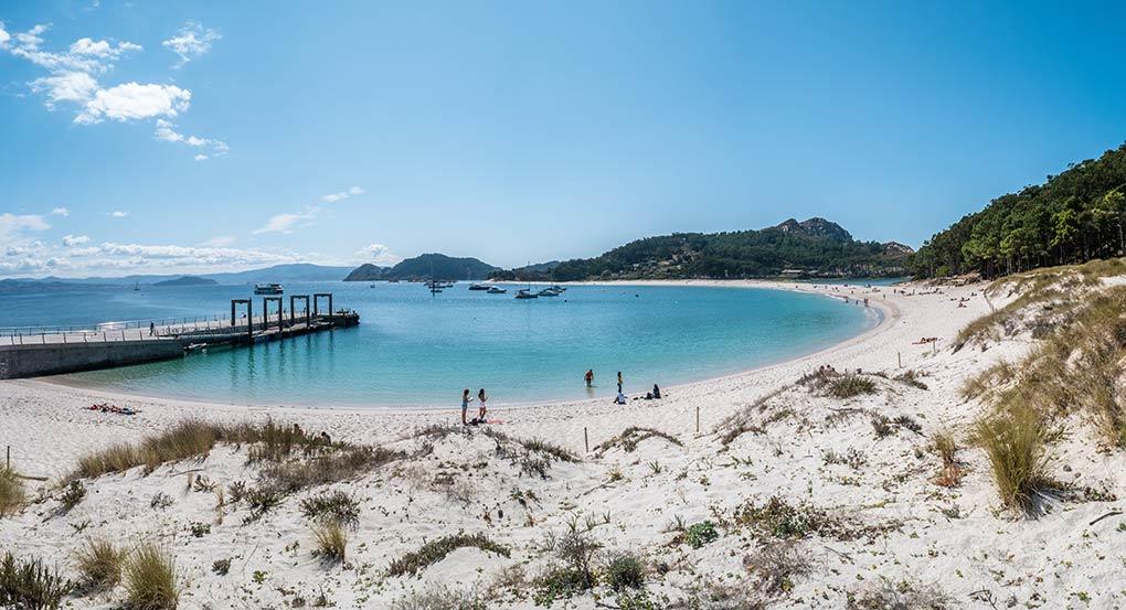 Vistas de la Playa de Rodas