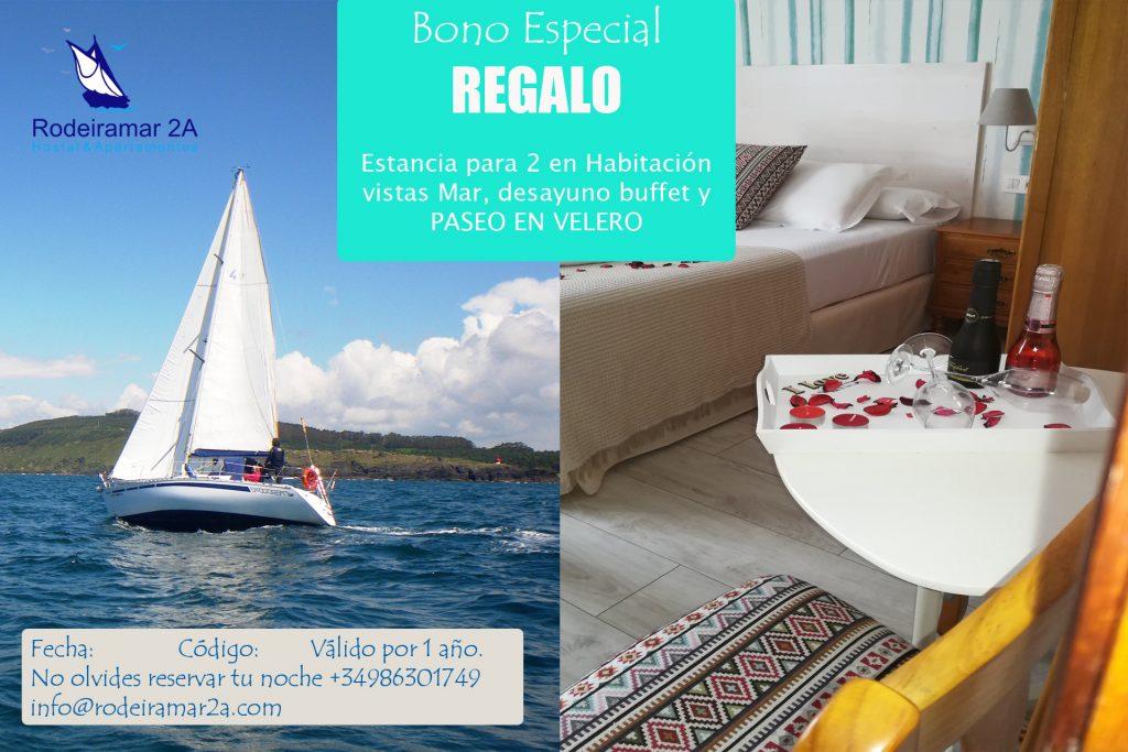 Bono Hotel Rodeiramar 1 noche Hotel para 2 y paseo en velero. 1024x683 - Bonos de Hotel Rodeiramar la mejor opción para regalar estas Navidades 2018