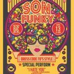 Son Funky, Fiesta años 70's en Discoteca Clip