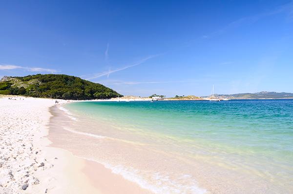 Playa Area Brava: alojamiento en Cangas de Morrazo
